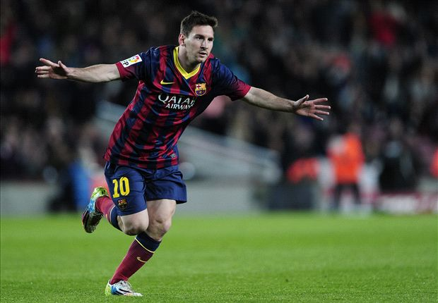 Barcelona 4-1 Almeria: Messi & Puyol put Catalans one point behind Real Madrid