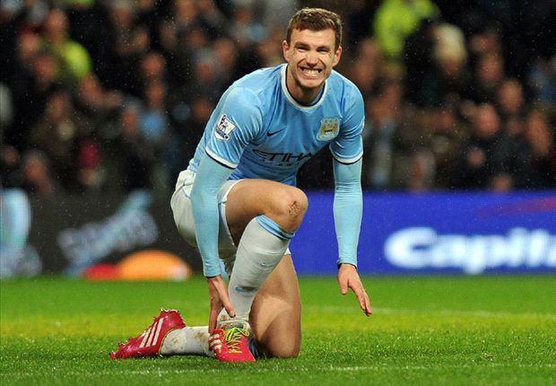 Inter deny interest in Sagna and Dzeko