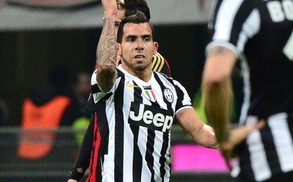 Carlos Tevez Milan Juventus Serie A