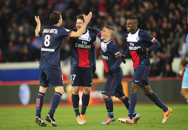 Paris Saint-Germain 2-0 Olympique de Marseille: Maxwell & Cavani give Parisiens Classique victory