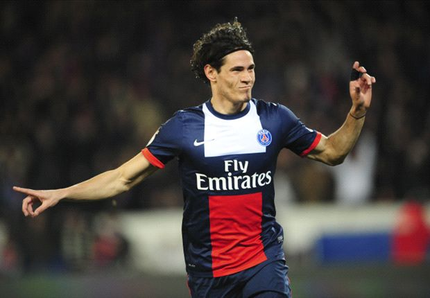 Cavani content at PSG despite being played out of position