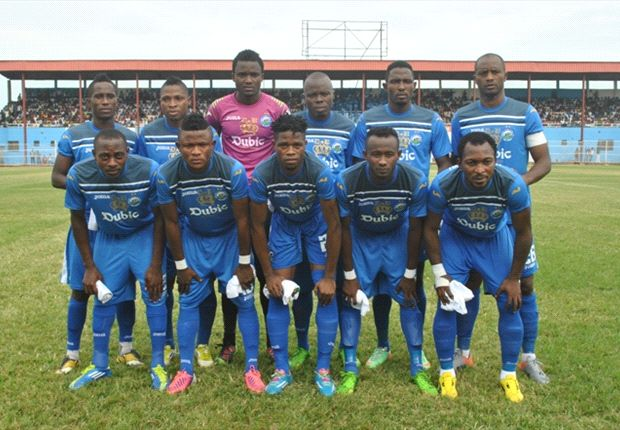 Enyimba 2-1 Dolphins: Udoh & Okonkwo goals seal victory for Peoples Elephants