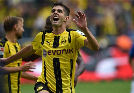Pulisic scores late equalizer for Dortmund