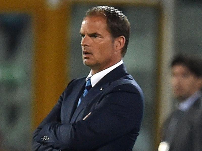 Nuovo ko per l'Inter, de Boer deluso: Gara persa nel primo tempo, l'1-1 era giusto