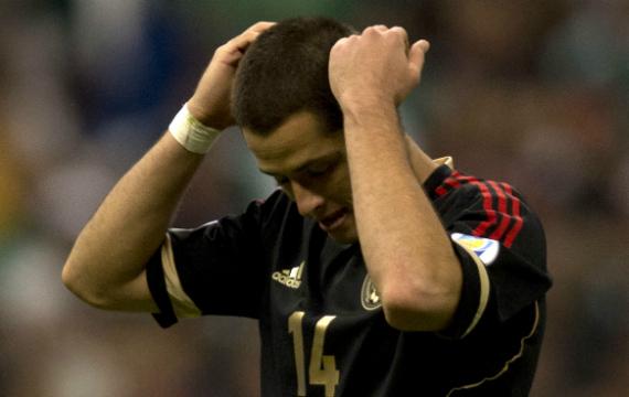 Chicharito benched by Mexico for World Cup friendly