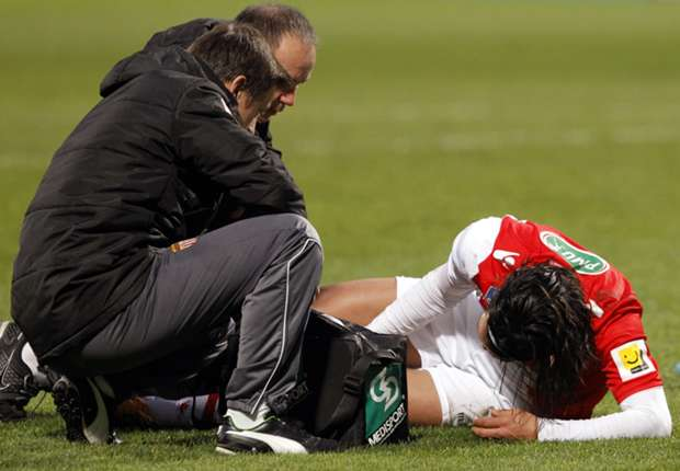 Falcao se lesionó gravemente en enero