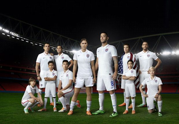 U.S. Soccer, Nike unveil new USA home kit