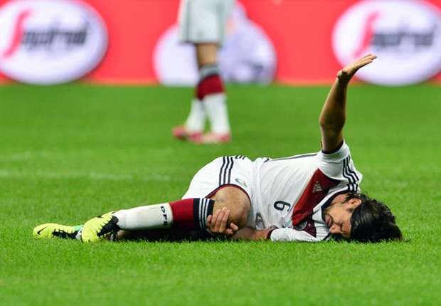 Khedira: I'm only thinking about my recovery