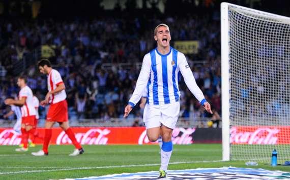 Real Sociedad forward Antoine Griezmann