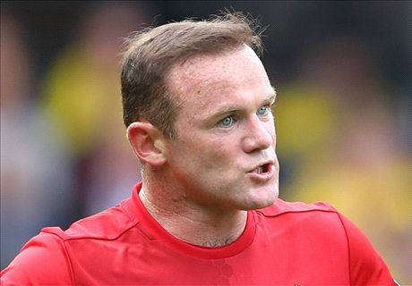 TEAM NEWS: Rooney benched again