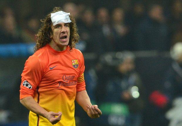Carles Puyol, usadlo en caso de emergencia