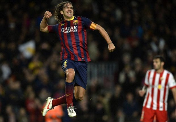 Puyol's brilliant Barcelona career in numbers