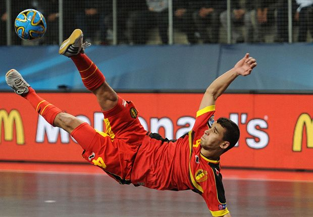 Belgium futsal player handed 10-game ban for 'quenelle' gesture