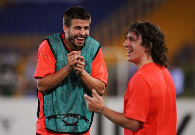 'My guardian angel' - Pique pens thank you to departing Puyol