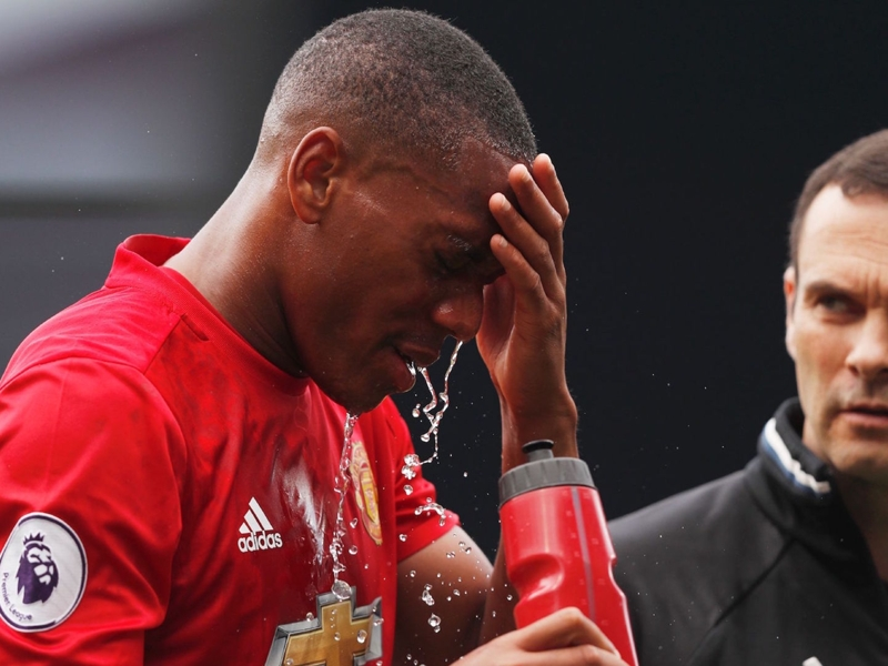 Manchester United, Martial forfait contre Leicester