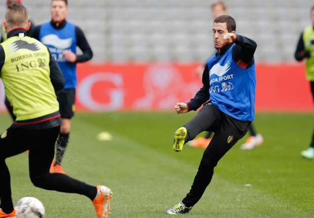 Hazard: Belgium not among World Cup favourites