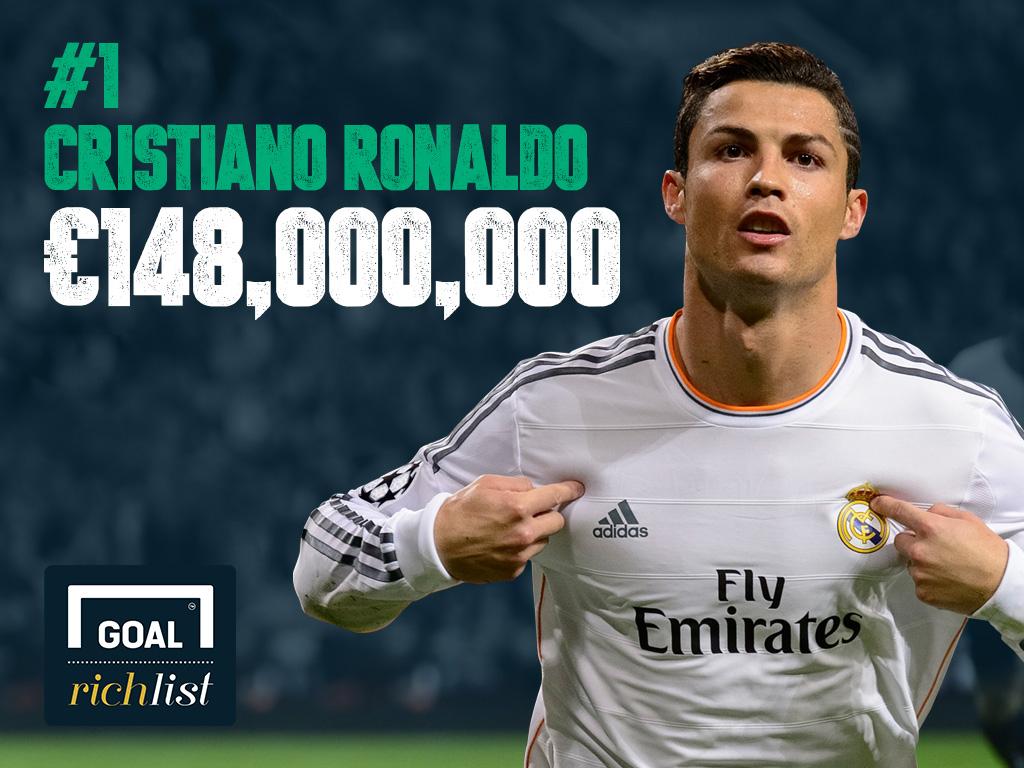 classement goal 2014 des joueurs les plus riches