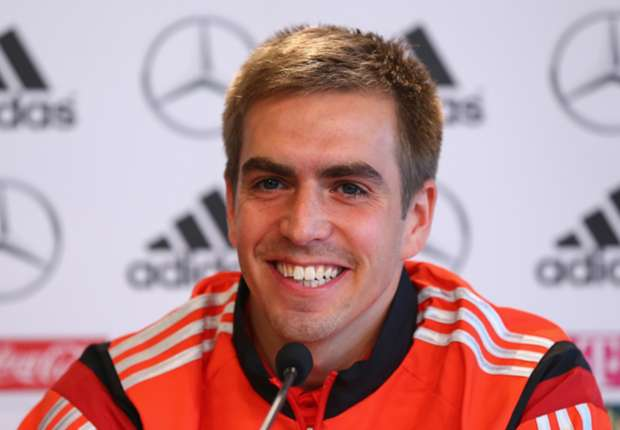 Philipp Lahm ve a Alemania