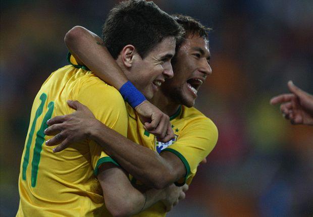 South Africa 0-5 Brazil: Neymar nets hat trick as Selecao stroll