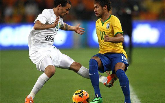 Neymar - Brazil vs South Africa 03052014