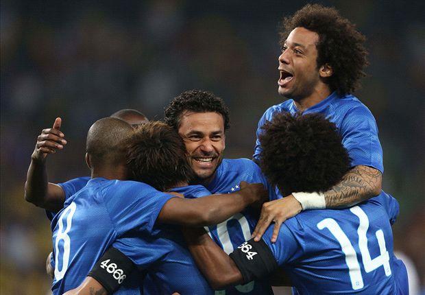 Brasilien jubelt über den nächsten Testspielerfolg