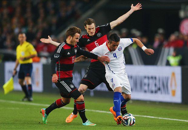 Alemania 1-0 Chile: Los chilenos jugaron, los alemanes marcaron