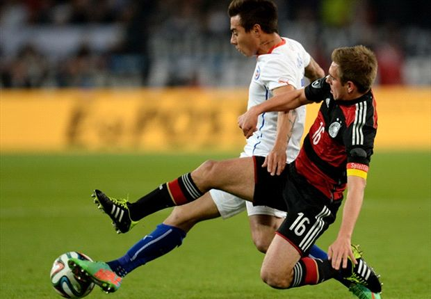 Germany's Philipp Lahm: We were lucky to beat Chile