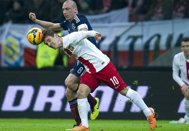 Poland 0-1 Scotland: Strachan's men unbeaten in five after Brown winner