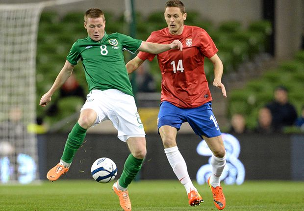 Ireland 1-2 Serbia: O'Neill suffers first defeat