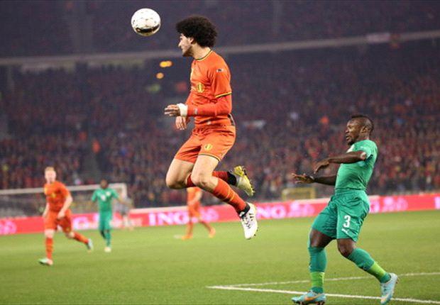 Belgium 2-2 Cote d'Ivoire: Drogba and Gradel deny Wilmots' men