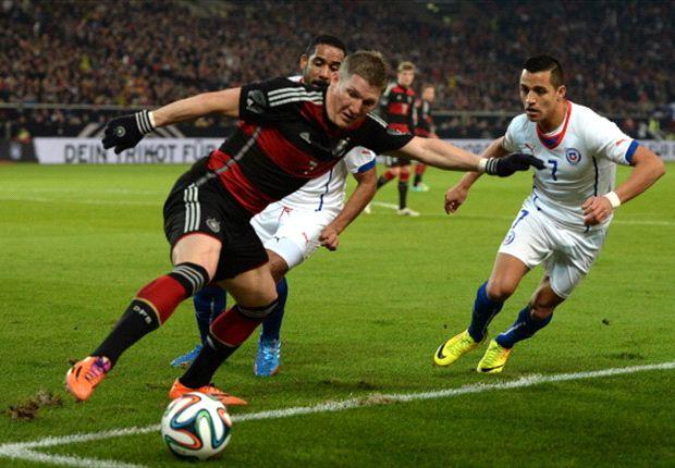 Keine Glanzleistung gegen Chile: Die DFB-Elf