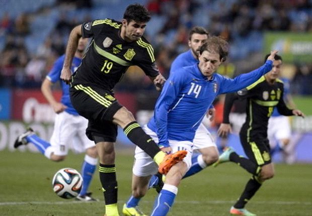 Diego Costa's dour debut gives Del Bosque a World Cup headache