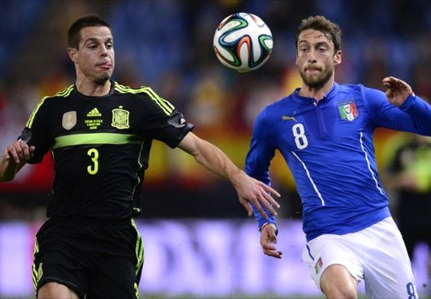 Azpilicueta e Marchisio in azione