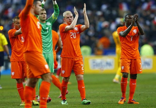 Netherlands drop out of world's top 10