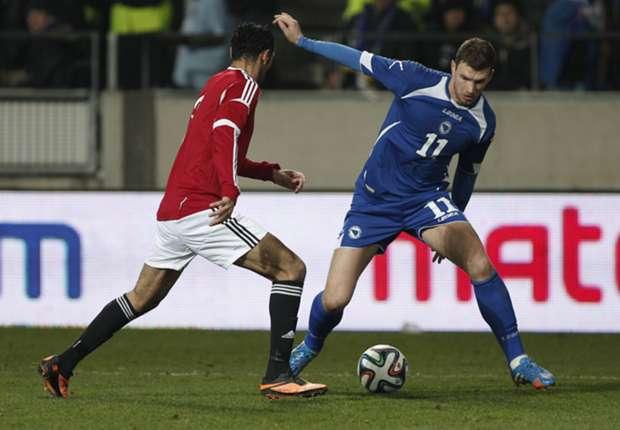 Dzeko criticises Bosnia coach Susic after playing through injury