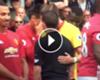 ► ¡Zlatan se rio en la cara del árbitro!