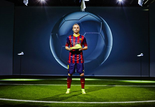 Iniesta launched Nike's iconic Football Boots - Magista