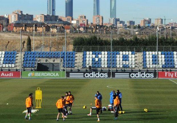 El Real Madrid ya prepara el encuentro ante el Schalke