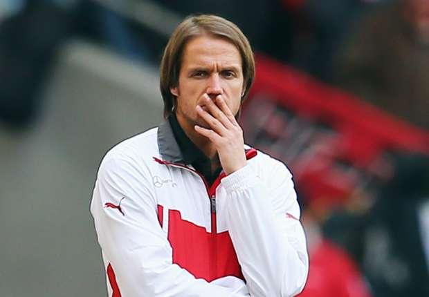 Unter Druck: VfB-Trainer Thomas Schneider