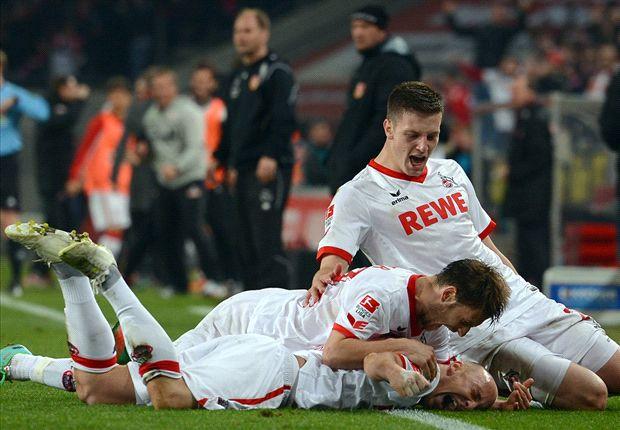Der 1. FC Köln kann sich über drei Punkte im Heimspiel gegen Energie Cottbus freuen