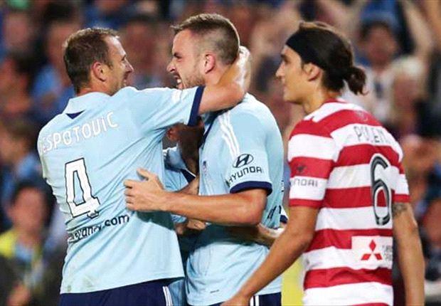 Sydney FC 3-1 Western Sydney: Sky Blues shock Wanderers