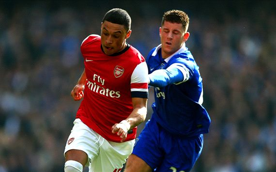 Alex Oxlade-Chamberlain Ross Barkley Arsenal Everton FA Cup