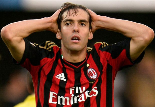 Zero goals and zero assists – how Kaka's form has nosedived since Seedorf succeeded Allegri