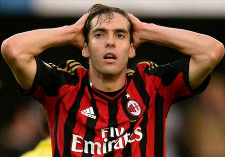 Kaka's form has collapsed under Seedorf