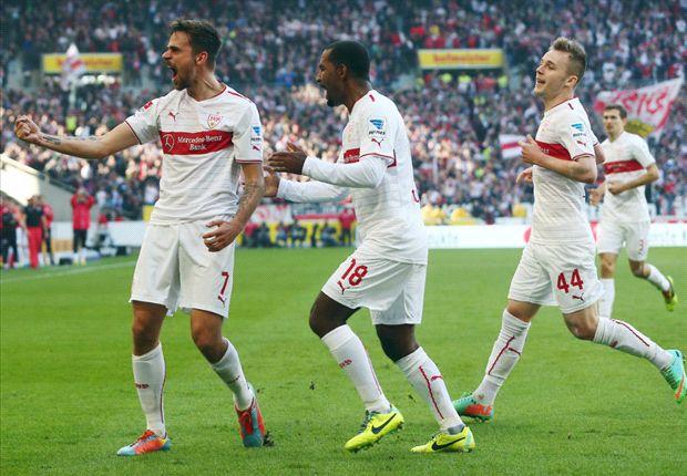 Erst Jubel, dann wieder kein Sieg: Der VfB Stuttgart kommt aus dem Keller nicht raus