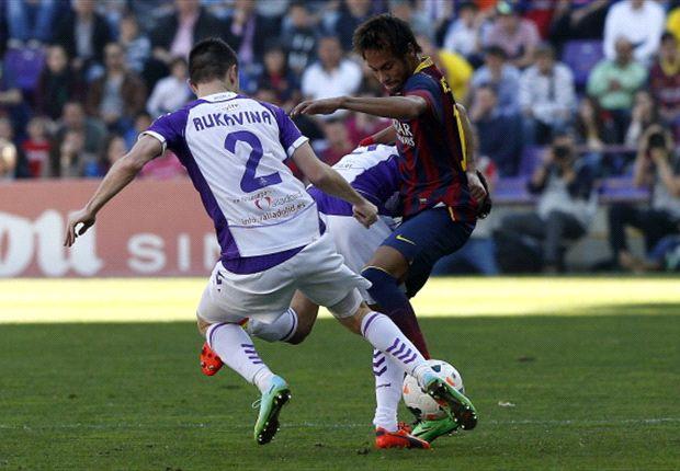 Neymar, Fausto Rossi y las cinco claves del Valladolid 1-0 Barcelona