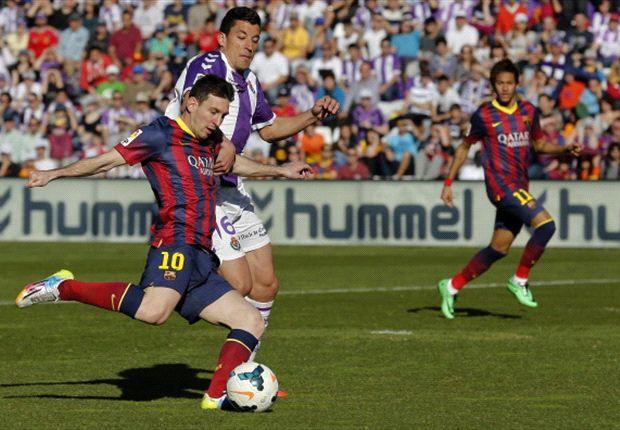 Laporan Pertandingan: Real Valladolid 1-0 Barcelona