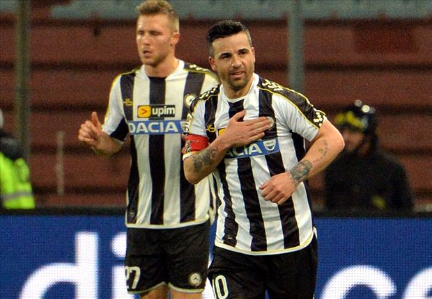 Serie A Team of the Week: Di Natale downs AC Milan