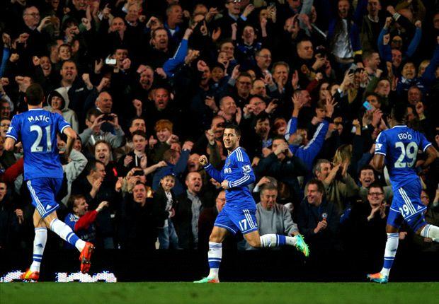 Chelsea 4-0 Tottenham: Blues cruise past Spurs as Mourinho's men go seven points clear