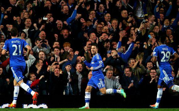 Eden Hazard Chelsea Tottenham Hotspur Premier League 03092014